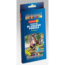 Camlin bi-colour pencil-24 - Pack of 24