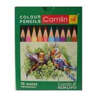 Camlin col pencil fsc-10 (hex).. - Pack of 10