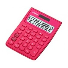 Casio Stylish and Colorful Calculator MS-20VC-RD