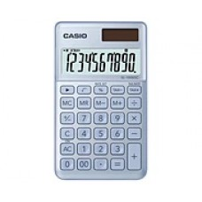 Casio Stylish and Colorful Calculator SL-1000SC-BU
