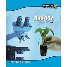 Classmate Biology Practical Books 280 x 220 (mm) Hard Blank 136 pages