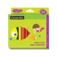 Classmate Wax Crayons Jumbo 24 shades
