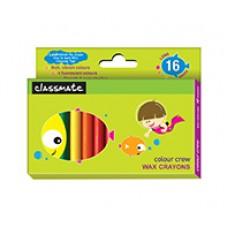 Classmate Wax Crayons Long 16 shades