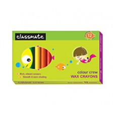 Classmate Wax Crayons Regular 12 shades