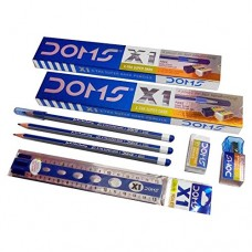 DOMS X1 Pencil - Pack of 10