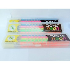 DOMS Neon Groove Pencil - Pack of 10