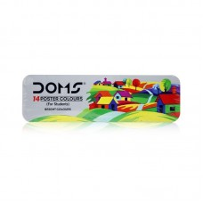 DOMS Poster Colour 14 Shades - Pack of 1