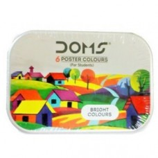 DOMS Poster Colour 6 Shades - Pack of 1