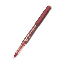 842 Pilot V-7 Cartridge Pen -Rd