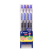 Pilotc6- Poplol Combo Pkof 4 Pcs Ink Color 4 Blue
