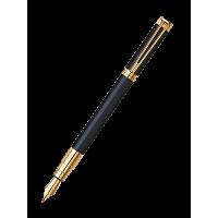 Waterman Perspective Black Gt Fountain Pen Medium Nib
