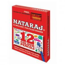 Nataraj 12 HS Colour pencils - Pack of 12