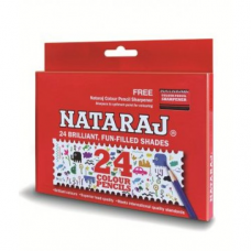 Nataraj 24 HS Colour pencils - Pack of 24