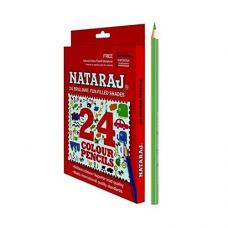 Nataraj 24 FS Colour pencils - Pack of 24