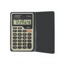 Orpat Basic Calculators Pocket Size Calculators TC-608 Black