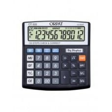 Orpat Check and Correct Calculators Desktop Calculators OT-500 Black