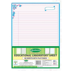 Sundaram Project Sheets (Blue) - 50 Sheets