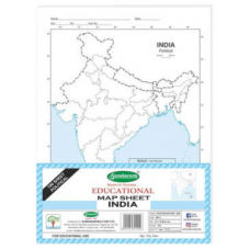 Sundaram Map Sheets (India Political) - 100 Sheets