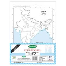 Sundaram Map Sheets (India Physical) - 100 Sheets