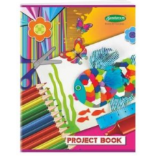 Sundaram Project Book (Rulled) - 32 Pages