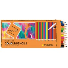 Navneet Youva Colour Pencils regular (Pack of 12)