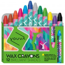 Navneet Youva Wax crayons (small pack of 12)