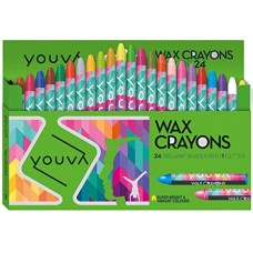 Navneet Youva Wax crayons (big pack of 24)