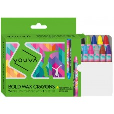 Navneet Youva Wax crayons (bold pack of 24)