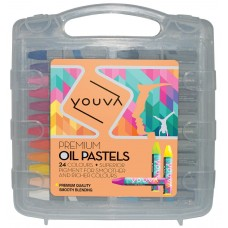 Navneet Youva Premium Oil pastels (pack of 24)