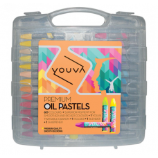 Navneet Youva Premium Oil pastels (pack of 60)