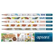 apsara Wildlife pencils - Pack of 10