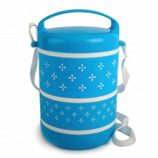 Cello Mercury 3 Lunch Box Blue