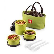 Cello Max Fresh Food Link Lunch Box Green