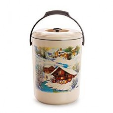 Cello Mega Hot 5 Container Lunch Pack, Brown