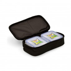 Fit & Fresh LUNCH BOX SET OF 2 PIECES SQUARE WITH THERMAL BAG