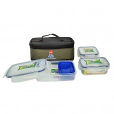 Fit & Fresh LUNCH BOX SET OF 4 PIECES WITH THERMAL BAG