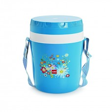 Cello Micra Insulated Lunch Carrier (3 Container) Blue White