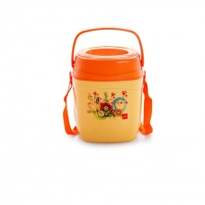 Cello Relish Insulated Lunch Carrier (3 Container) Orange