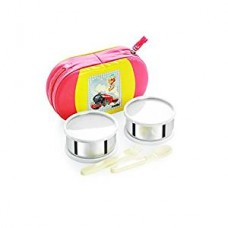Cello Get Eat 2 Container Lunch Packs, Yellow
