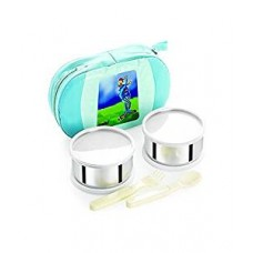 Cello Get Eat 2 Container Lunch Packs, Green