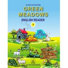 Allied Publishers Green Meadows English Reader Class 7