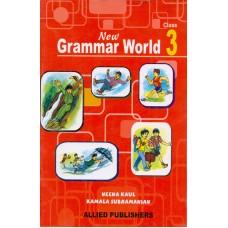Allied Publishers New Grammar World - Class 3