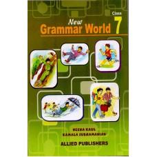 Allied Publishers New Grammar World - Class 7
