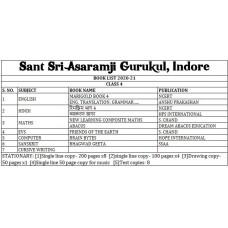 Sant Sri Asaramji Gurukul Class 4 Set
