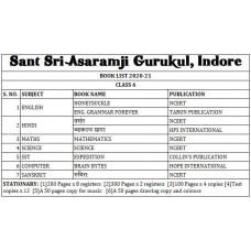 Sant Sri Asaramji Gurukul Class 6 Set
