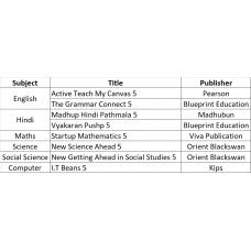 Medi-Caps International School Bookset Class 5