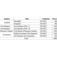 New Greenfield bookset Class 11-Commerce