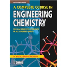 A Complete Course in Engineering Chemistry for 2nd Semester (WBUT) Kakali Bandhopadhaya