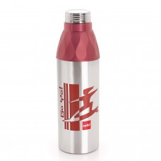 Cello Go Yo Water bottle (600 ml) Brown