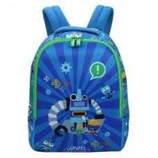 Smily Junior Backpack (Blue)